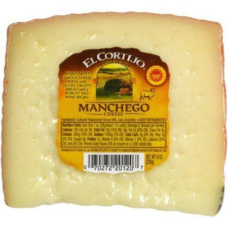 Buy El Cortijo Manchego Cheese, 8 oz at Walmart com  Aged