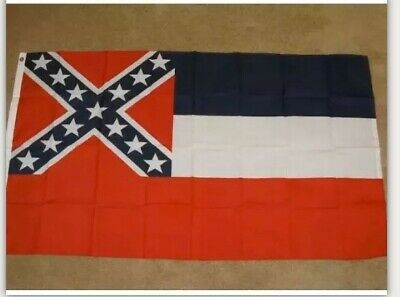 Find Many Great New Used Options And Get The Best Deals For Mississippi State Flag Ms States Us Banner Grommet F254 Pennan In 2020 Mississippi Flag Gadsen Flag Flag