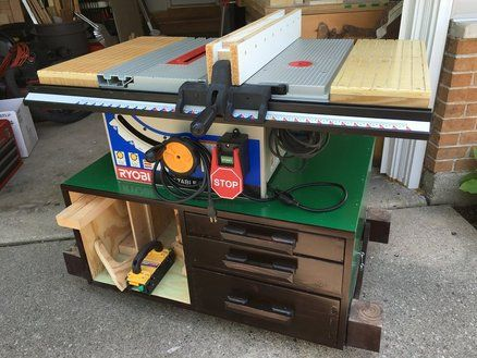 Bt3100 Table Saw Stand Woodworking Projects Plans Table Saw Table Saw Stand