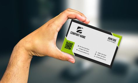 36+ Business Card in Hand Mockup Templates – Free and Premium PSD Templates
