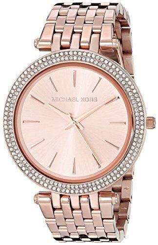 Micheal Kors Damen-Armbanduhr Analog Quarz Edelstahl MK3192 - http://uhr.haus/michael-kors/micheal-kors-damen-armbanduhr-analog-quarz