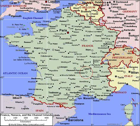 Immagini Della Cartina Della Francia.Map Barcelona South France Northern Italy Mappa Della Francia