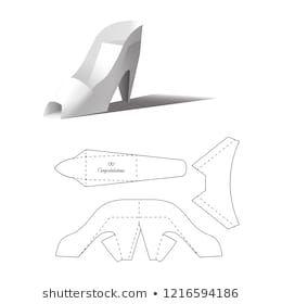 Origami Schuh