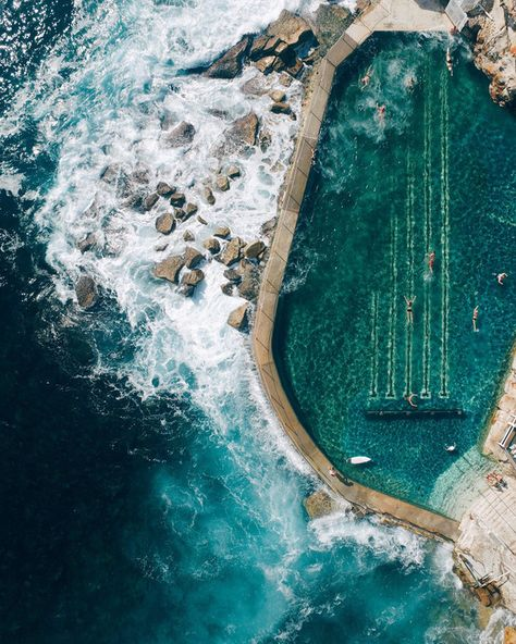 Sydney has 44 rockpools: Bronte Baths is definitely one of the most beautiful right?! | 15 Reasons Why Summer In Sydney Is Fucking Amazing