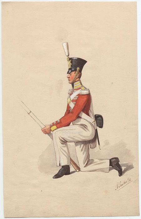 british 28th north gloucestershire regiment of foot private line company 1811 by r caton woodville british empire 1754 1921 pinterest napoleonic