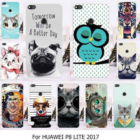 Pattern 7 Ecoway Huawei Y5 2017 Case Cover Coque de t/él/éphone Silicone Housse en Silicone Housse de Protection Housse pour t/él/éphone Portable pour Huawei Y5 2017