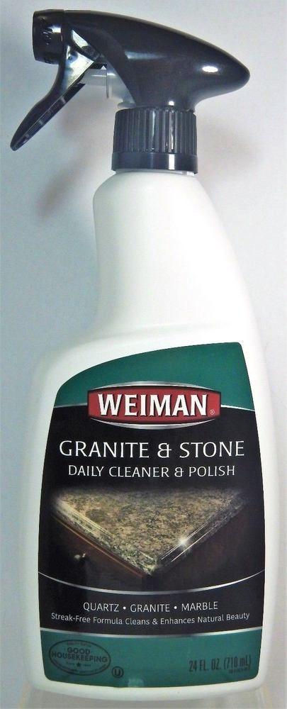 Weiman Granite Daily Cleaner Polish Streak Free Countertop