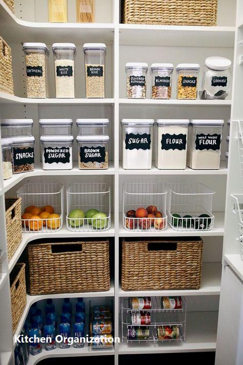 15 Creative Diy Storage And Organization Ideas For Small Kitchens 1 Kitchen Organization Kitchen Organization Pantry Kitchen Hacks Organization