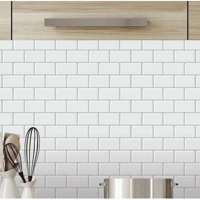 6 X 24 Peel And Stick Vinyl Wall Paneling Self Adhesive Backsplash Peel Stick Backsplash Stick On Tiles