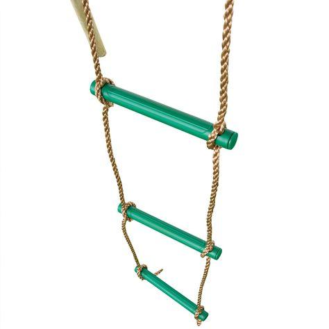 Ultrakidz Rope Ladder with 5 weatherproof plastic rungs
