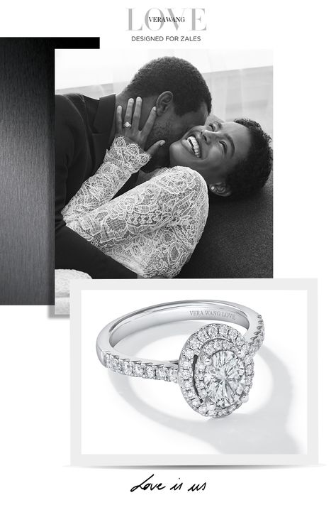 Your love deserves a timeless design that will be treasured for eternity. The Vera Wang LOVE collection designed for Zales, the Diamond Store. #LoveZales Dream Engagement Rings, Classic Engagement Rings, Engagement Photos, Vera Wang, Wedding Bands, Our Wedding, Dream Wedding, Vintage Black Glamour, Diamond Stores