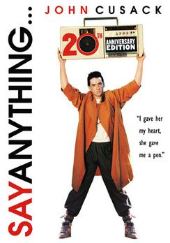 @Overstock - The quintessential `80s teen romance, this film has retained its poignancy into the next century with its ability to entertain and amuse while remaining intelligent and packed with real emotion that anyone can empathize with. John Cusack plays Lloyd Do...http://www.overstock.com/Books-Movies-Music-Games/Say-Anything-20th-Anniversary-Edition-DVD/4186649/product.html?CID=214117 $8.17