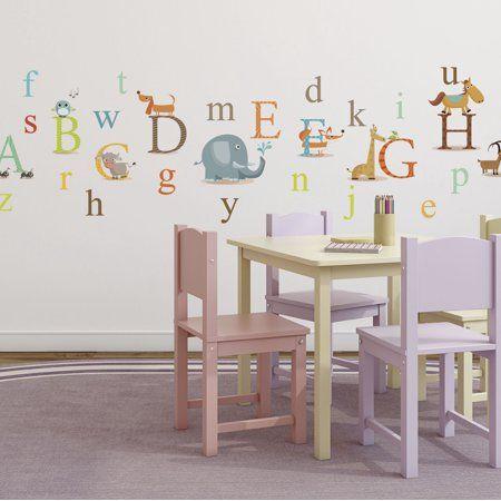 Baby Alphabet Wall Decals Nursery Wall Decals Decor