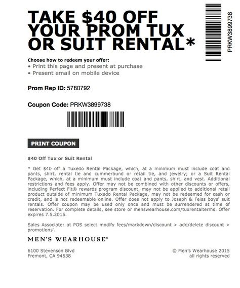photo relating to Mens Wearhouse Coupon Printable known as Pinterest