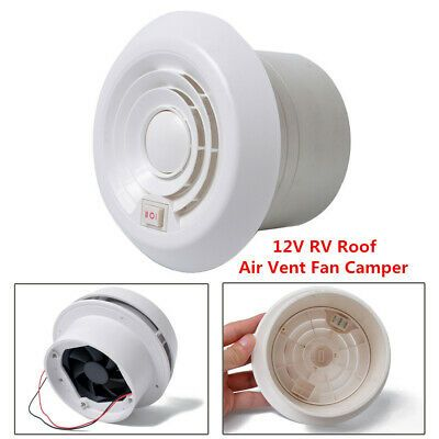 12v Rv Roof Air Vortex Vent Fan Camper Travel Trailer Motorhome Eco Friendly Ebay Camper Travel Trailer Roof Air Vent