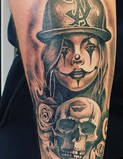 Chicano Tattoos Meanings : chicano, tattoos, meanings, CHICANO, TATTOO, STYLE:, ORIGINS,, MEANING, ILLUSTRATIONS, Tatuagem,, Noite