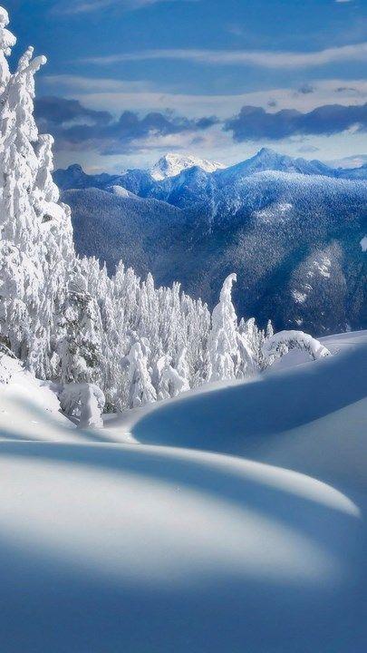 خلفيات ايفون 7 طبيعه Nature Wallpapers Iphone Tecnologis Winter Wallpaper Winter Landscape Winter Scenery