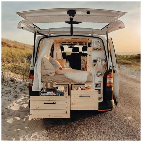 Van Conversion Interior, Camper Van Conversion Diy, Van Interior, Sprinter Van Conversion, T4 Camper Interior Ideas, Volkswagen T5, Vw Mk1, Bus Camper, Camper Life