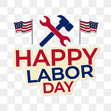 Happy Labor Day American Flag Elements United States Labor Day National Flag Png And Vector With Transparent Background For Free Download Happy Labor Day American Flag Colors National Flag
