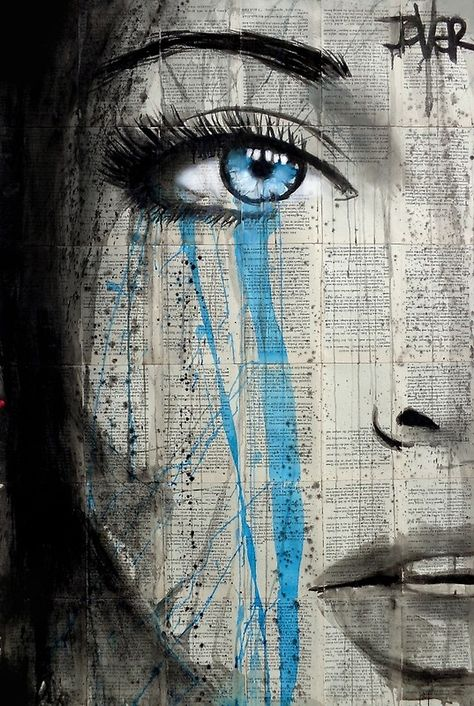 blue metropolis by Loui Jover