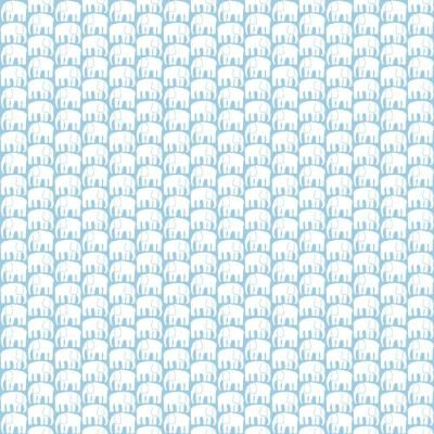 Roommates Blue And White Elefantti Peel And Stick Wallpaper Covers 28 29 Sq Ft Rmk11526rl The Home Depot In 2021 Peel And Stick Wallpaper Simple Wallpapers Wall Coverings