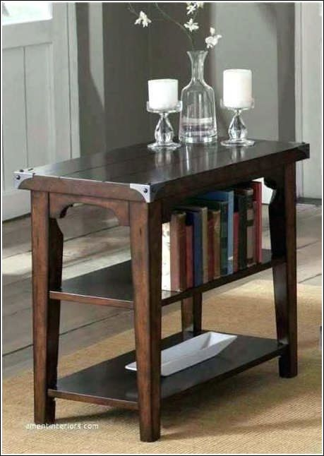 Thin Oak End Table Living Room Chair Side Table Liberty Furniture Living Room Table