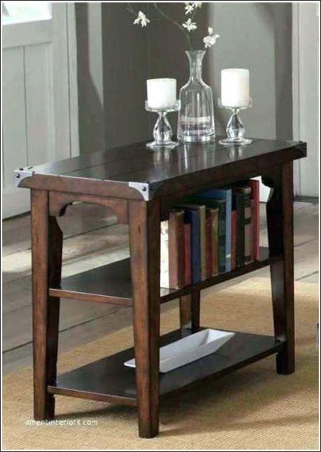 Thin Oak End Table Living Room Oak End Tables For Living Room