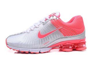 reputable site 822a1 9111d Nike Air Shox 2018 White Hyper Pink Womens Footwear NIKE ...