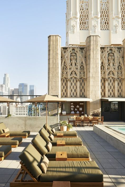 Ace Hotel, Downtown LA. Love Ace hotels especially this one as it stands in the old United Artists theatre building!