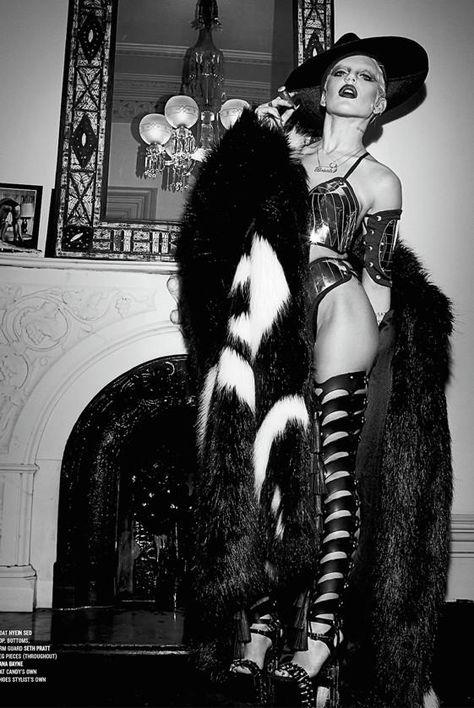 Brooke Candy by Steven Klein for V Magazine Summer 2014