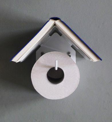 Bird House toilet roll holder for Presenttime 2012 price € 24,95