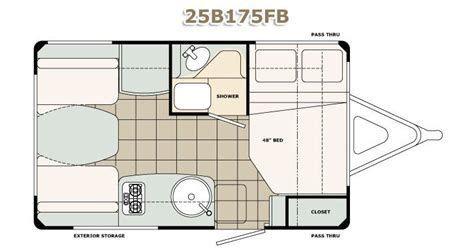 Image Result For Cargo Trailer Conversion Floor Plans 6 X 10