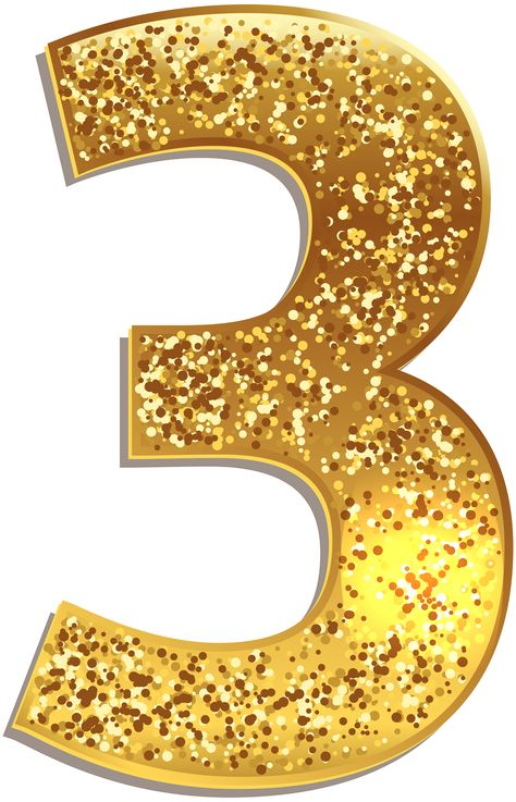 https://gallery.yopriceville.com/Free-Clipart-Pictures/Decorative-Numbers/Number_Three_Gold_Shining_PNG_Clip_Art_Image
