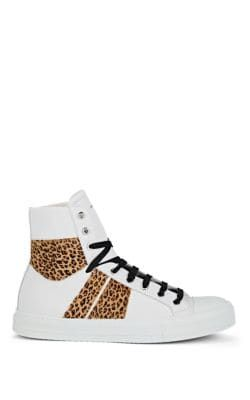 Leopard Sunset High-top Sneakers In
