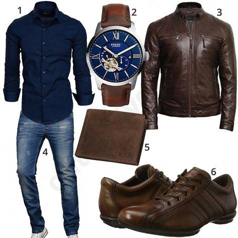 Amaciamp; Sons ShirtA With Dark Chic Blue Men's Style vwO0yN8nm