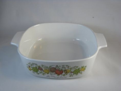 Corning Ware Spice of Life 1 Quart Casserole with Lid #A 1 B