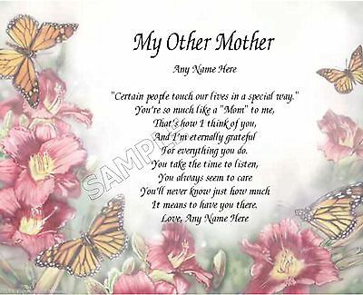 My Other Mother Personalized Art Poem Memory Birthday Mother S Day Gift Ebay Birthday Wishes For Aunt Happy Birthday Aunt Happy Mother S Day Aunt