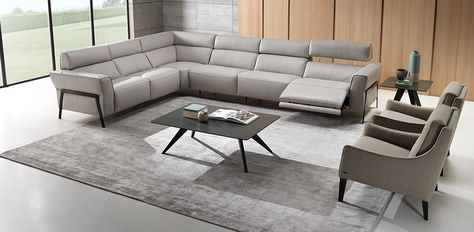 Contemporary Recliner Sofas Reclining