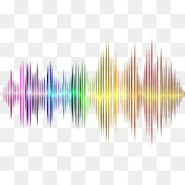 Rainbow Color Audio Sound Sound Waves Curve Png Picture Vector Material Sound Wave Curve Rainbow Photoshop Tutorials Free Free Photoshop Resources Sound Waves