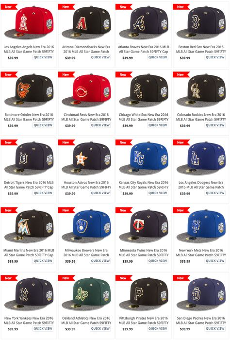 super popular authentic reasonable price 2016 All Star … in 2019 | All star, Mlb, Hats