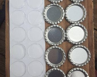 100 1 Inch Clear Epoxy Stickers Epoxy Stickers Epoxy Dome Etsy Clear Epoxy Bottle Cap Magnets Wire Wrapped Jewelry