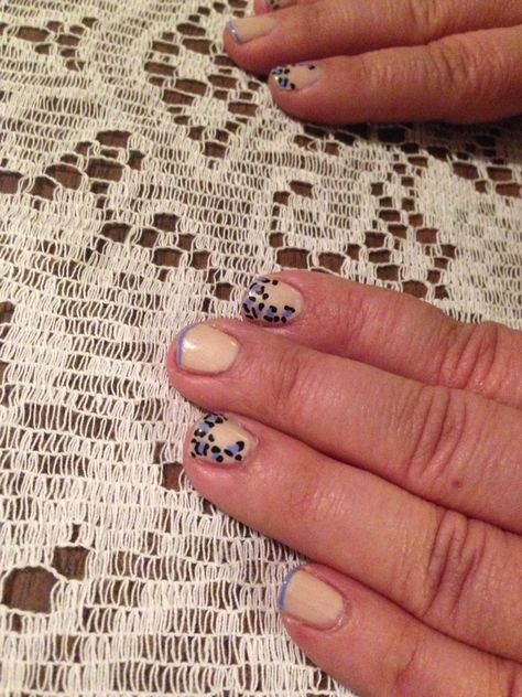 Cheetah Nail Art Neutral Cheetah Judesnails Pinterest