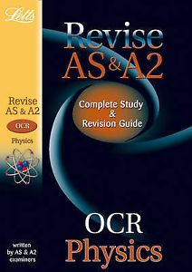 Letts A-level Revision Success - OCR AS and A2 Physics: Study Guide by Graham Booth, David Brodie (Paperback, 2010) for sale online | eBay
