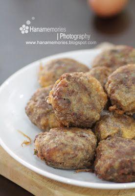 Hana S Family Begedil Burger Oblong Masakan Thailand Makanan Egg Tart