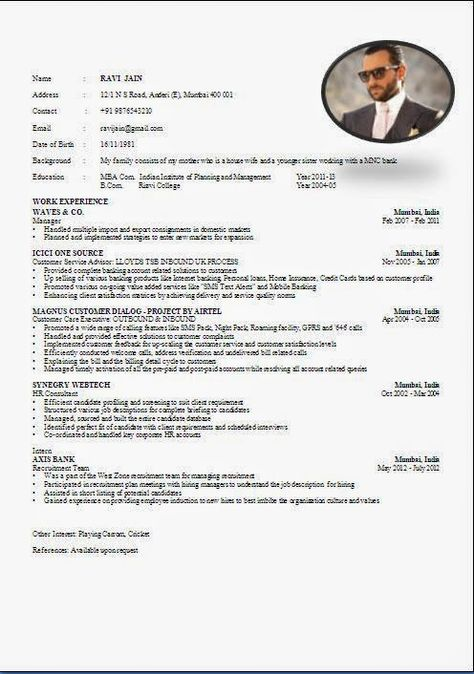 cv maker free online Beautiful Excellent Professional Curriculum - mba resume format