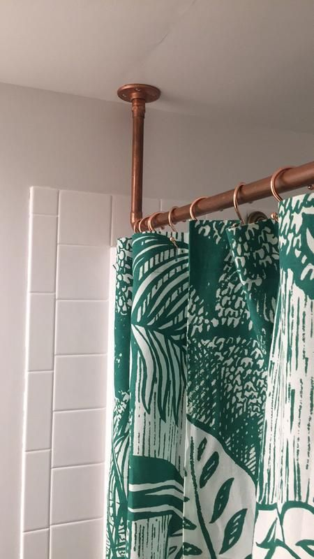 Copper Shower Curtain Hooks Set Diy Shower Curtain Shower