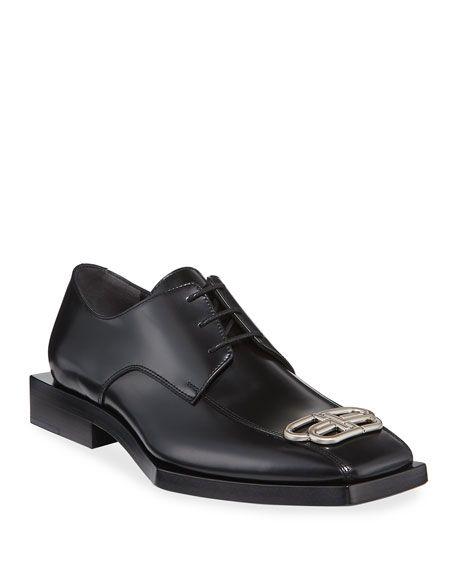 Bloc Rim BB Square Leather Derby Shoes