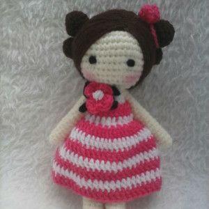 Bambolina Lilly amigurumi schema gratia crochet uncinetto ...   300x300