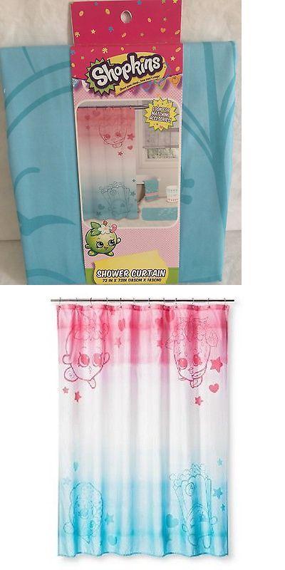 Bath 115624 Shopkins Shower Curtain 72 X 72 100 Polyester Buy