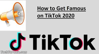 How To Get Famous On Tiktok 2020 Tricks How To Get Famous How To Get Famous
